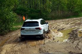 Dodge Journey Off Road - going off road in the 2018 volkswagen tiguan 4motion automobile