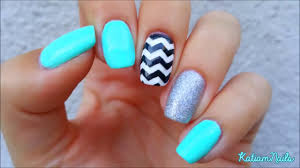 zigzag nails art design for all type nails awesome nail art