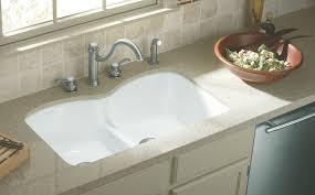 Cast Iron Undermount Kitchen Sinks by Kitchen Sinks Apron Undermount Sink White Double Bowl U Shaped