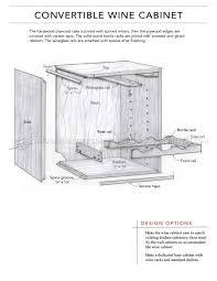 Kitchen Cabinet Plans Woodworking Wine Cabinet Plans Woodarchivist