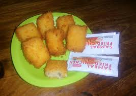 membuat nugget ayam pakai tepung terigu resep nugget ayam keju oleh dessy w b cookpad