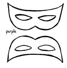 simple mardi gras mask wear coloring download u0026 print