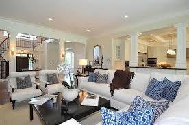 Decorating Open Floor Plan Decorating Open Floor Plan Jillian Klaff Homes Living Rooms