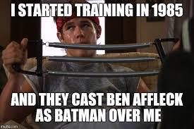 Ben Affleck Batman Meme - image tagged in brolin goonies imgflip