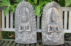 Garden Wall Plaque by Garden Buddha Statues In Uk Geoffs Garden Ornaments