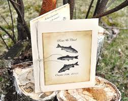 Camo Wedding Invitations Custom Fishing Wedding Invitations Fish Wedding Camo Wedding