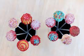 chocolate u0026 red velvet cake pops u2013 olison u0027s cupcakes