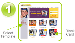 siteprint com custom trading card maker