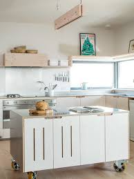 moveable kitchen island cabin kitchen island houzz
