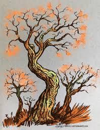 twiggy tree trio