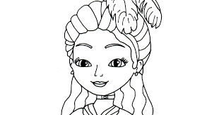88 coloring pages princess sofia disney sofia