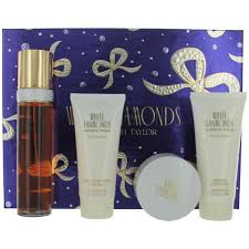 Gift Sets For Women W Starting With White Diamonds By Elizabeth Taylor 4 Pece Gift