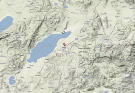 Terrain Map Burdur Map