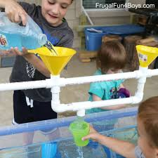 Water Table Toddler To Make A Pvc Pipe Sand And Water Table