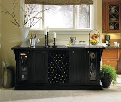 black storage cabinet in dining room omega