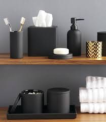 black white bathroom accessories sets iron uk set rubber coated