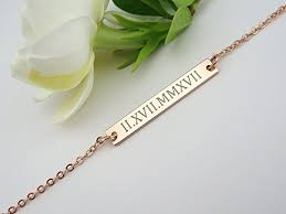 bracelet with initials custom name necklace bar necklace handmade necklace gold bar