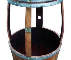 Wine Barrel Fire Pit Table by Wine Barrel Beverage Center Vita Vino U2013 Wine Barrel Fire Pits