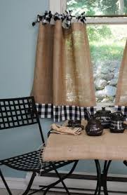 Sewing Cafe Curtains No Sew Cafe Curtains Diy U0026 Crafts Pinterest Cafe Curtains