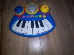 piano keyboard with light up keys little tikes pop tunes musical electric piano keyboard blue red