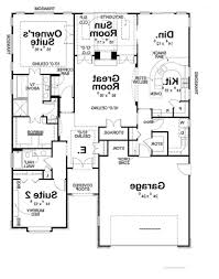 Floor Plans For One Story Homes Terrific Luxury Single Story Home Plans 24 For Furniture Design