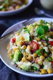 chickpea avocado salad the stingy vegan