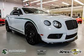 white bentley 2016 bentley continental gt3 r ae track package xpel ultimate ppf