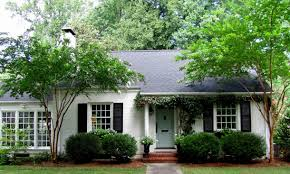 Beautiful Home Exterior Designs by Trendy White House Exterior Paint Idea With Gray Door Black Window