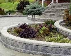 how to design your garden wall project allan block retaining walls