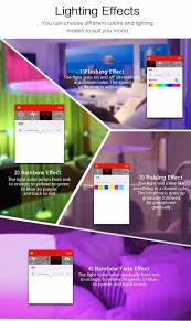 mipow bluetooth led light btl201 smart remote control light app app control by smart phone