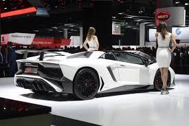 Lamborghini Aventador Grey - 2015 lamborghini aventador sv roadster
