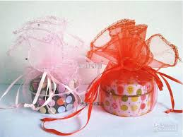 organza gift bags new 39cm large sweet wedding favor organza gift bags jewelry