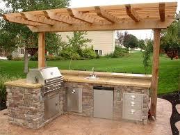 delightful design ideas outdoor kitchen simple outdoor kitchen