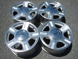 ford f150 rims 17 inch 2003 2006 ford f 150 expedition oem 17 inch wheels rims w center