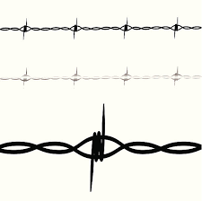 royalty free barbed wire tattoo clip art vector images