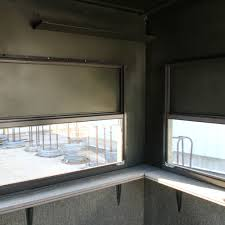 atascosa 5x5 trailer deer blind with luxury package dd farm ranch