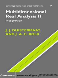 j j duistermaat j a c kolk multidimensional analysis ii pdf