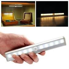 Cordless Sconce 10 Led Motion Sensor Activated Cordless Wireless Sconce Night