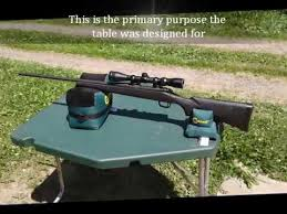 Caldwell Stable Table Mtm Predator Ii Shooting Table Youtube