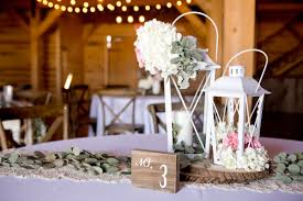 lantern wedding centerpieces 40 diy barn wedding ideas for a country flavored celebration