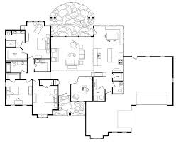 one story log cabin floor plans open floor house plans one story with basement house open floor