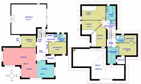 les chambres d une maison plan de maison agencement du plan pieces et zones d une maison