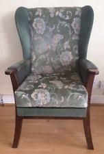 High Back Wing Armchairs High Back Wing Armchair Ebay