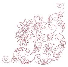 Flower Designs For Embroidery 86 Best Flowers Patterns Images On Pinterest Embroidery