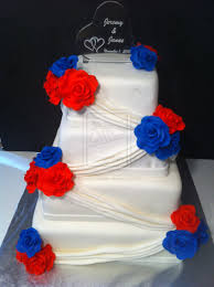 red white and blue wedding cake ideas best ideas about red