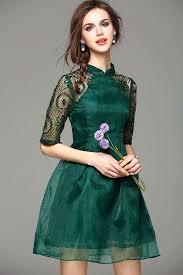 modern dress green modern cheongsam appealing apparel cheongsam