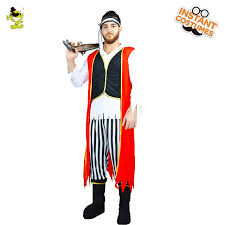 Viking Halloween Costume Shop U0027s Men U0027s Captain Castaway Pirate Fancy Dress