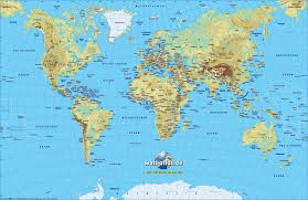 World Map Alaska by Maps World Map Physical