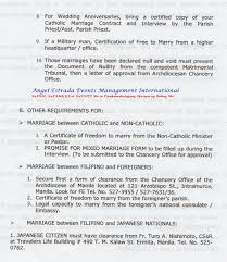 catholic marriage certificate your complete guide to getting married in the philippines