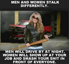 Men Meme - men and women stalk differently meme
